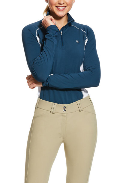 Women's Tri Factor 1/4 Zip Base Layer