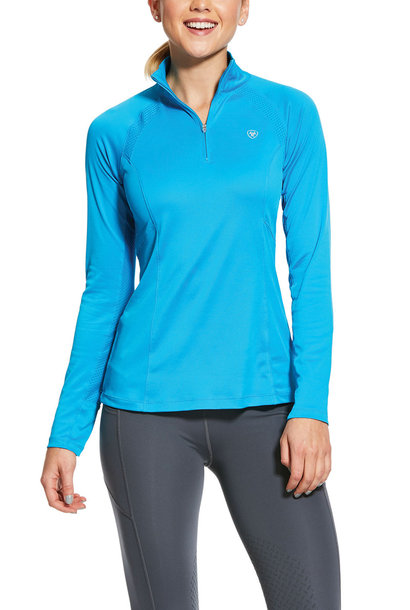 Women's Sunstopper 1/4 Zip Base Layer