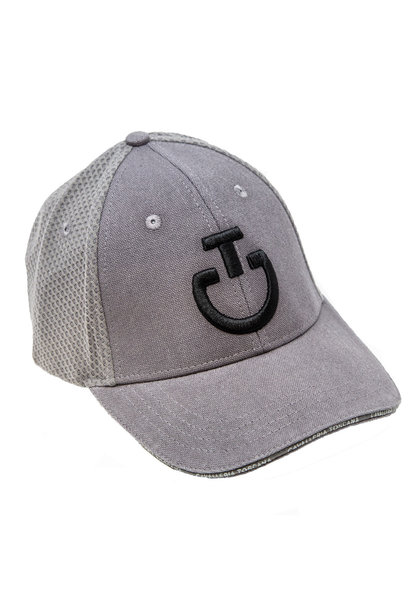 Taupe Mesh Baseball Cap