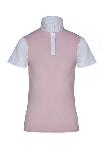 Girl's Jersey Jacquard S/S Show Shirt