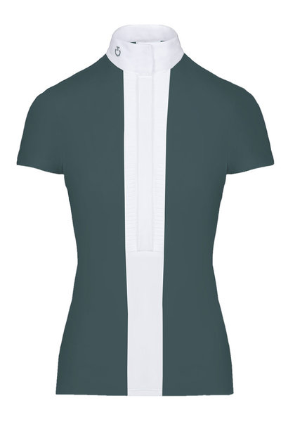 Women's Pleated Jersey Show Shirt