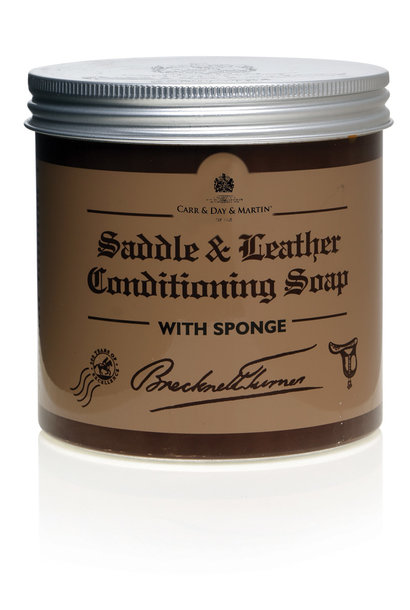 Brecknell Turner Saddle & Leather Soap 500ml