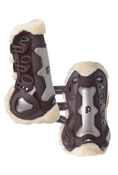 T-TEC Leather Sheepskin Tendon Boots