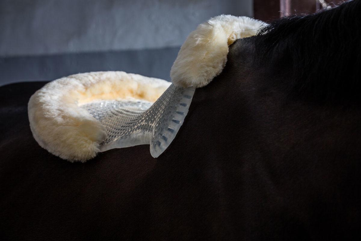 Acavallo Unisexs Natural Just Gel Lambskin Half Pad Pony