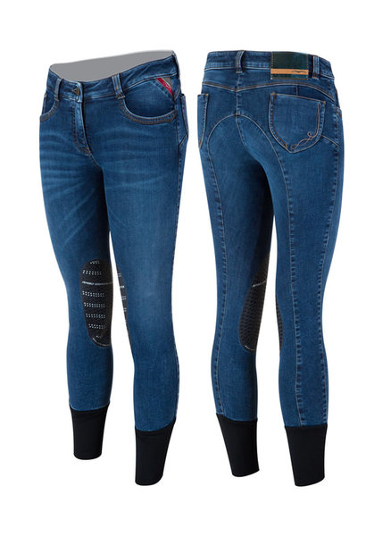 Women's Neci Knee Grip Denim Breeches