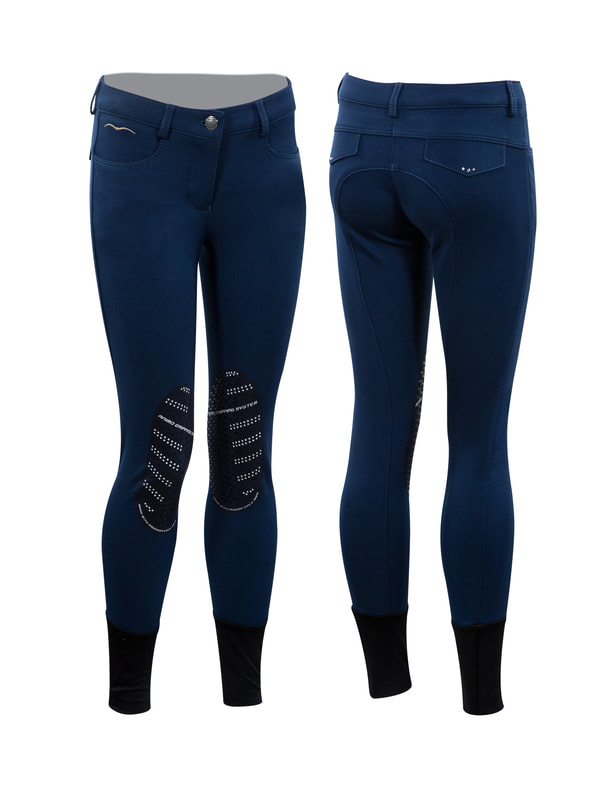 Girl's Nebo Knee Patch Breeches-1