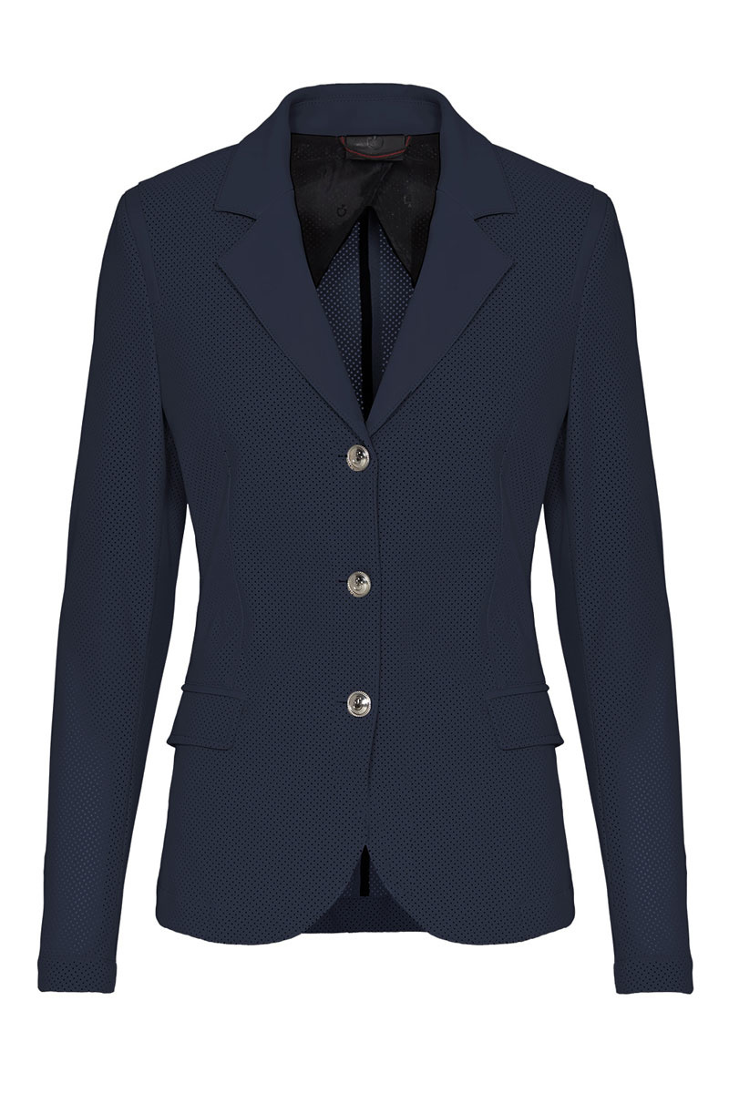 Women's All-over Perforated Show Jacket-1