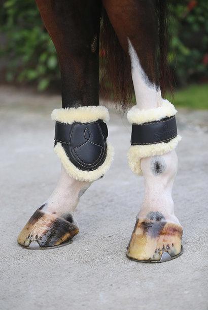 Sheepskin Leather Fetlock Boots