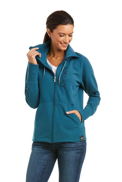 Women's Team Logo Full Zip Sweatshirt
