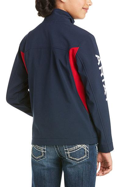 Girl's New Team Softshell Jacket