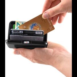 ®SMC Products Lichtgewicht Bank- en Creditcard houder in de kleur zwart, formaat 11x7cm - DD-41362