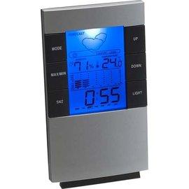 ®SMC Products Modern WEERSTATION om overal te plaatsen met klok en gekleurd display - DD-1365