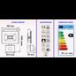 ®SMC Products LED Buitenverliching, Tuinlamp, Beveiligingslamp, Bouwlamp | 10W met sensor | Vervangt 90W | 6400K – Naturel wit