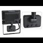 ®SMC Products LED Buitenverliching, Tuinlamp, Beveiligingslamp, Bouwlamp | 30W met sensor | Vervangt 270W | 6400K – Naturel wit