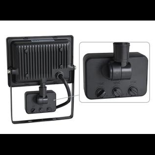 ®SMC Products LED Buitenverliching, Tuinlamp, Beveiligingslamp, Bouwlamp | 20W met sensor | Vervangt 180W | 4000K – Naturel wit