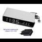 ®SMC Products Digitale Wekker met Oplader, Alarmklok, Temperatuur en Snooze functie.