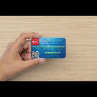 ®SMC Products Exclusieve cadeau kaart ter waarde van € 25,- DD-252525