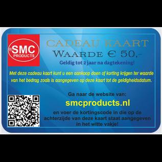 ®SMC Products Exclusieve cadeau kaart ter waarde van € 50,-  DD-505050