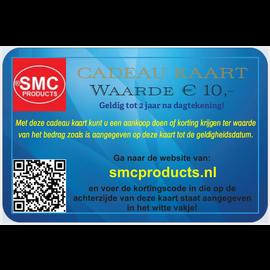 ®SMC Products *Exclusieve cadeau kaart ter waarde van € 10,- DD-101010