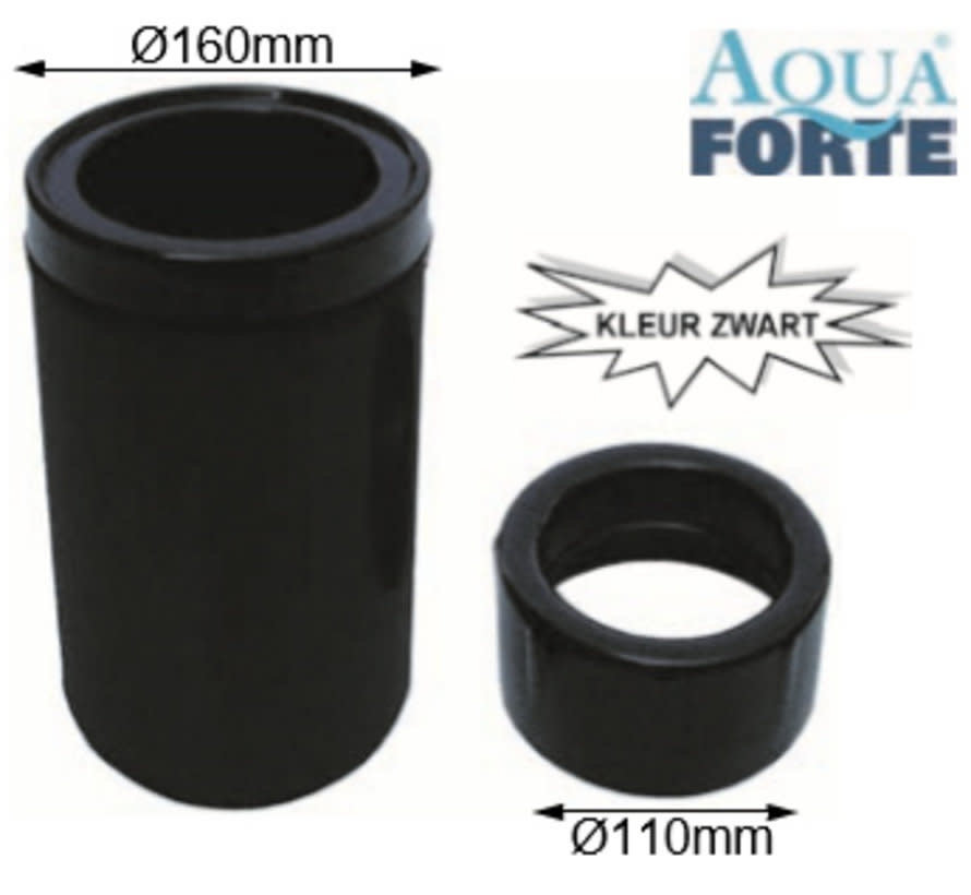 Aquaforte drijvende skimmer 110mm