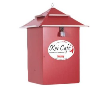 Voerautomaat Koi Cafe rood