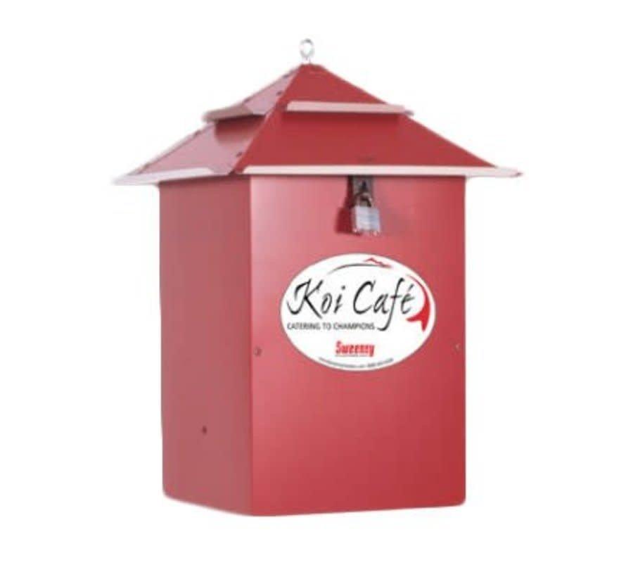 Voerautomaat Koi Cafe rood