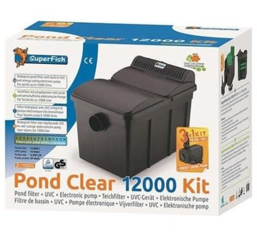 Superfish PondClear Kit 12000
