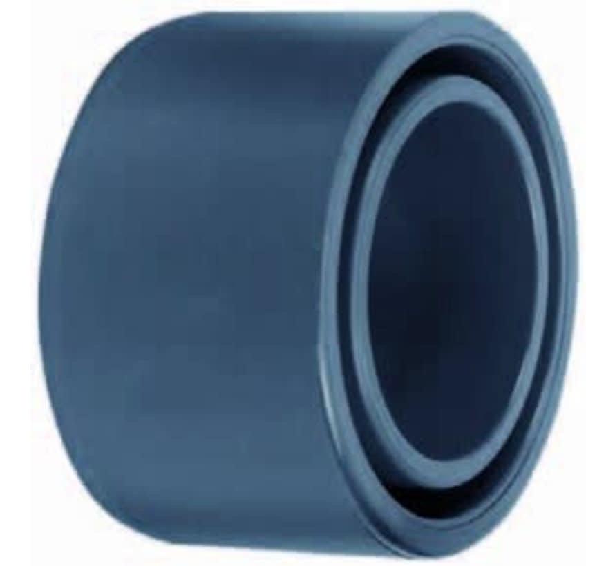 PVC verloopring 90 x 75mm PN16