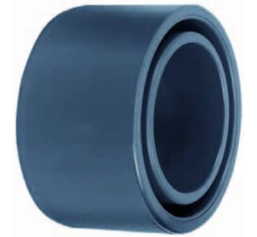 PVC verloopring 125 x 75mm PN16