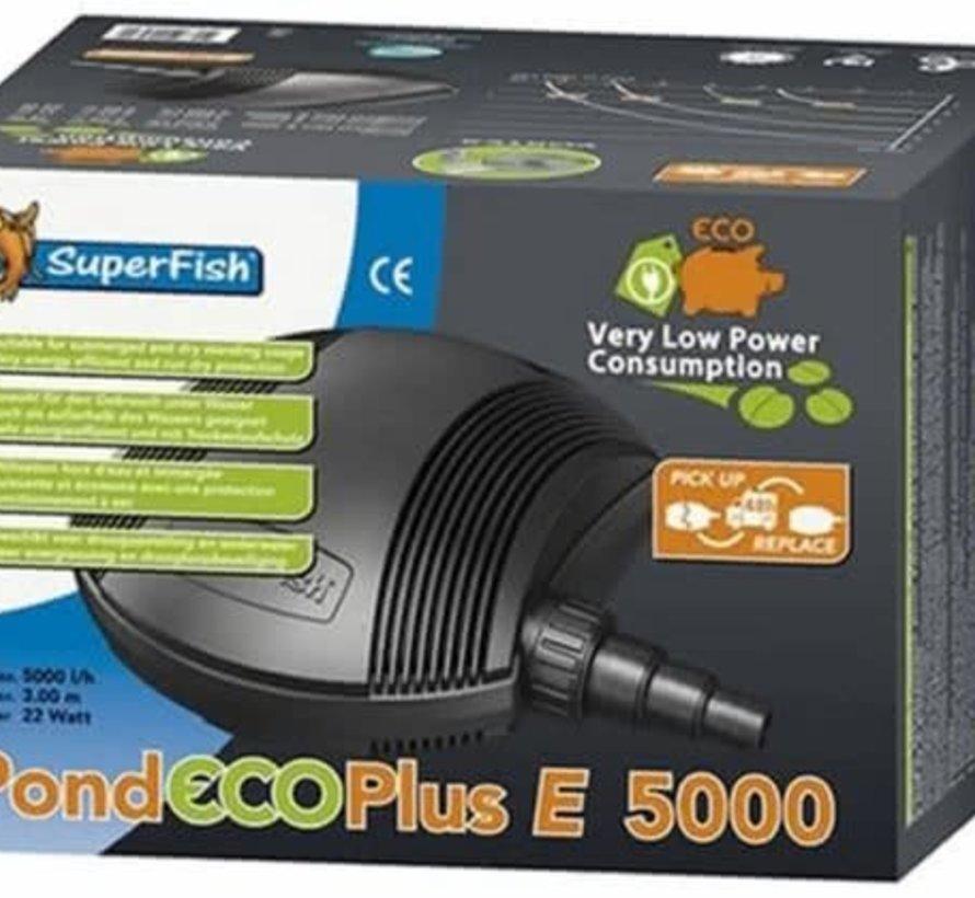 Superfish POND ECO PLUS E 5000-22 W