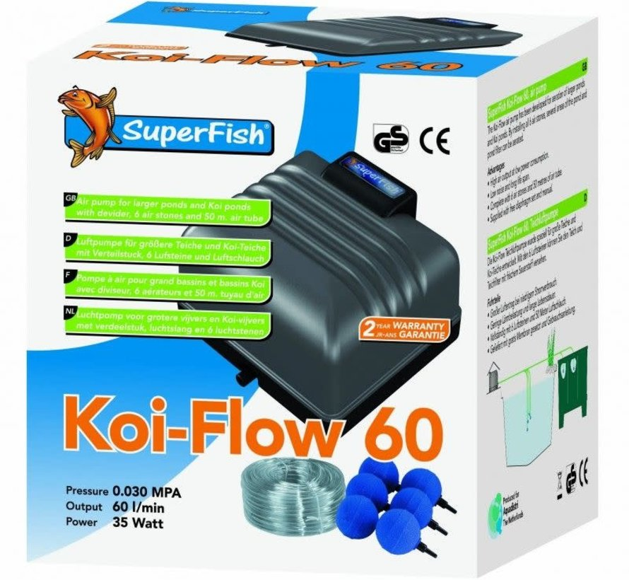 Superfish KOI FLOW 60 PROF.BELUCHTINGSSET