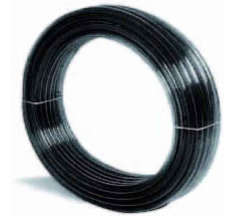 Luchtslang 9 x 12 zwart per meter