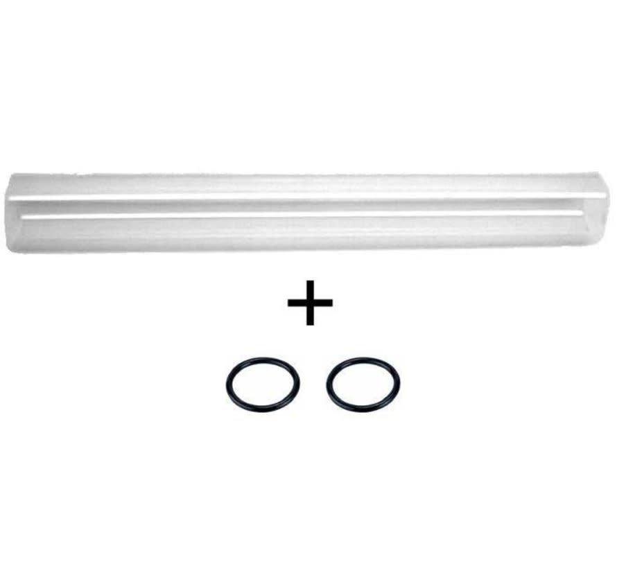 Kwartsglas + O-ringen voor Green Reset 25