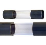 Zichtglas met lijmmof 50 mm