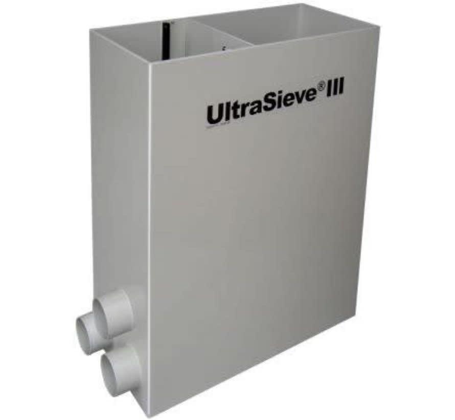 Aquaforte Prime Ultrasieve III 300 (met 3 ingangen) Zwaartekracht Zeefbochtfilter