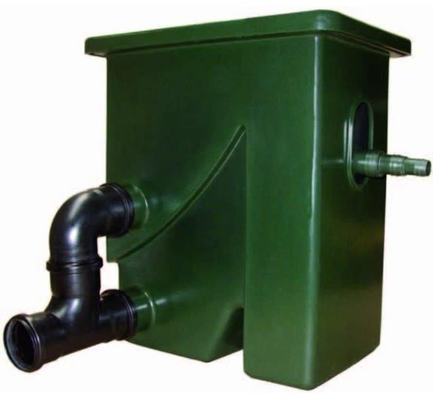 Aquaforte Compactsieve II Pompgevoed Zeefbochtfilter Groen
