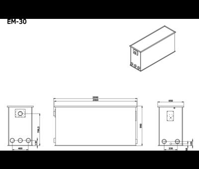 AEM AEM EM-30 Combi Totaalfilter