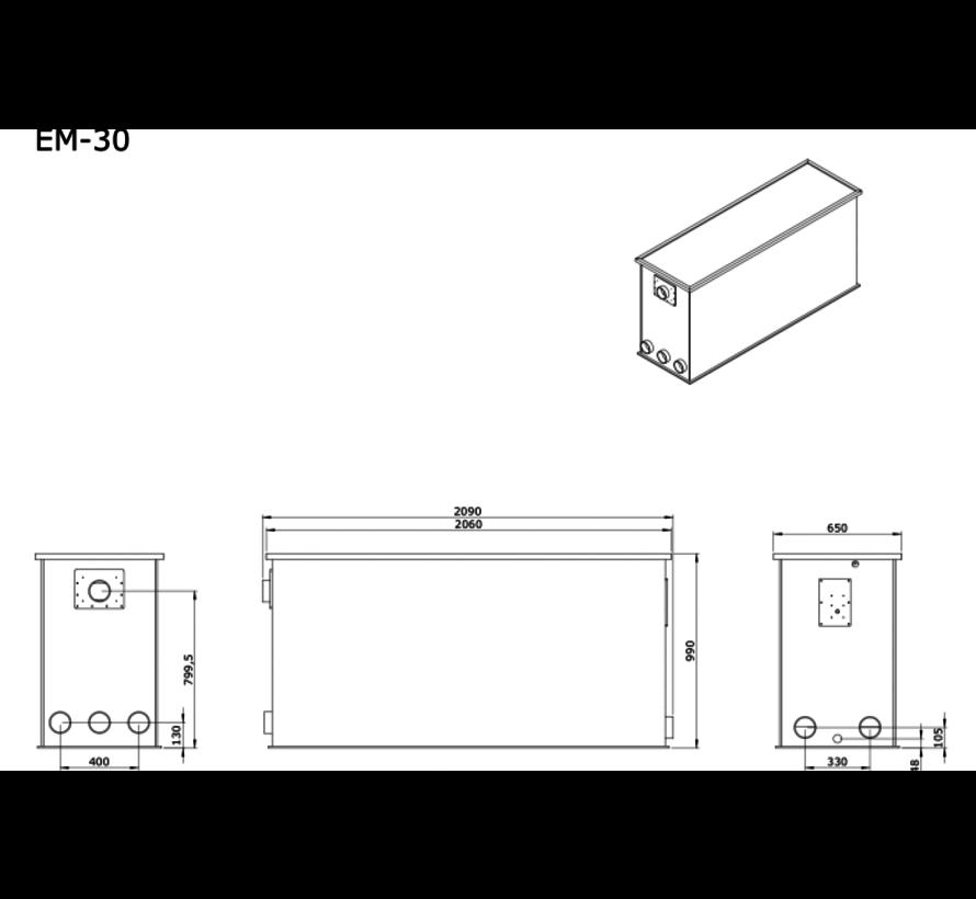 AEM EM-30 Combi Totaalfilter