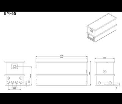 AEM AEM EM-65 Combi Totaalfilter