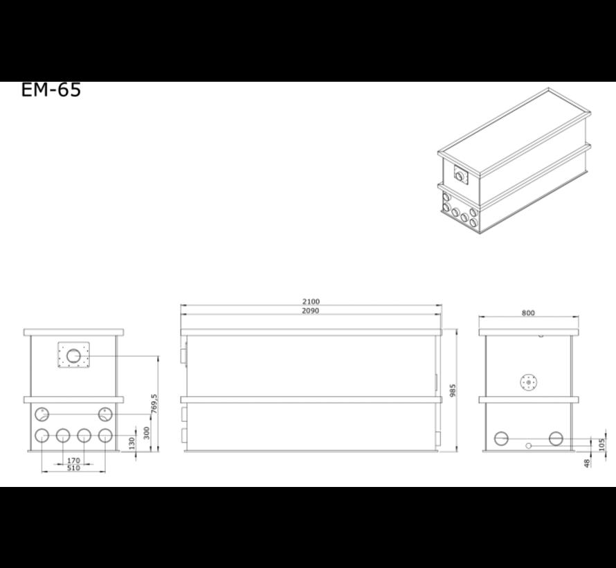 AEM EM-65 Combi Totaalfilter