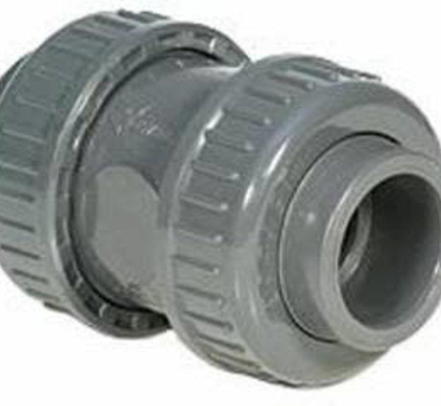 PVC druk terugslagklep 32mm 16 ATO
