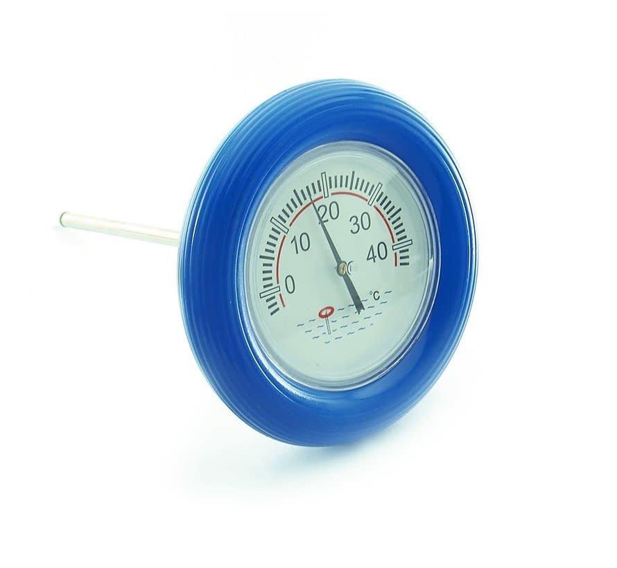 Vijverthermometer / Zwembadthermometer + Reddingsring -5C - +40C