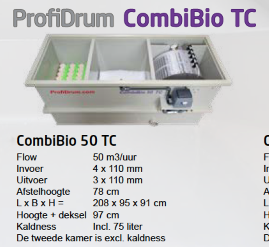 Profidrum CombiBio 50 TC (TwoChamber)