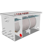 Red Label AquaKing Red Label Drum Filter 75/100 XL