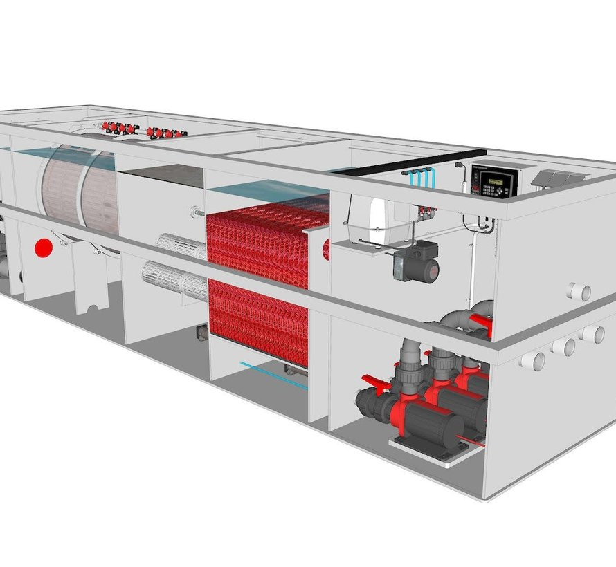 AquaKing Red Label Combi Filter Plug & Play 75/100 XL