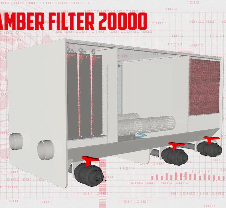 AquaKing Red Label 3 Kamer Filter Big 20000