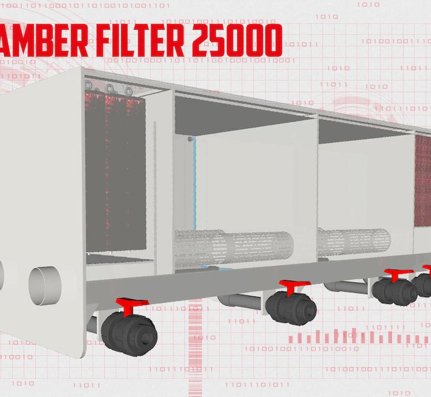 AquaKing Red Label 4 Kamer Filter Big 25000