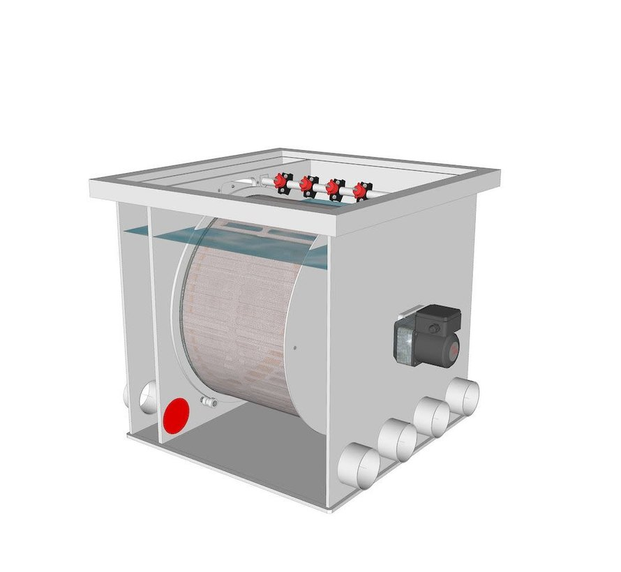 AquaKing Red Label Drum Filter 50/55 Lease