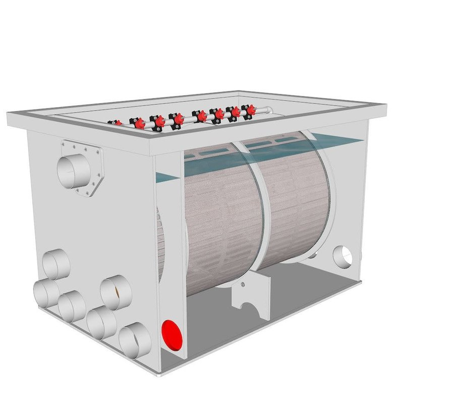 AquaKing Red Label Drum Filter 75/100 Lease