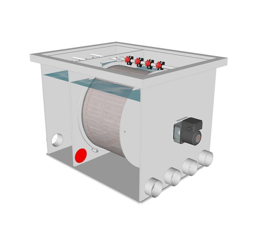 AquaKing Red Label Drum Filter 50/55 XL Lease